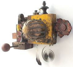 assemblage art  'infinite universe' by mylittlelovebox on Etsy
