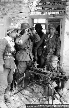 Wehrmacht in Russia, 1941-1942.