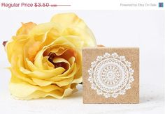 SALE Lace Rubber Stamp, Lace Stamp - Pattern A by chickydoddle on Etsy https://www.etsy.com/listing/217703640/sale-lace-rubber-stamp-lace-stamp