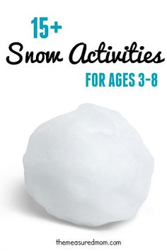 Looking for a snow ice cream recipe? Find that and other snow activities to help you get through the winter.