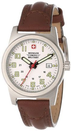 Wenger Swiss Military Women's 72920 Classic Field White Dial Brown Leather Military Watch Wenger Swiss Military,http://www.amazon.com/dp/B001HB2BH6/ref=cm_sw_r_pi_dp_NXcosb0JCMHQPPT8
