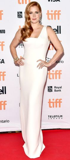 "Amy Adams in Tom Ford attends the ""Nocturnal Animals"" premiere during the 2016…"