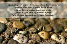 Traditioneller irischer Segenswunsch - noch mehr Grafiken und kostenlose Druckvorlagen: www.konfirmationfeiern.blogspot.de