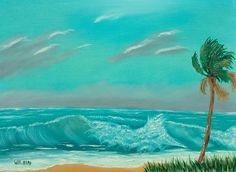 High Waves at the Beach by DavidWilkinStudios on Etsy