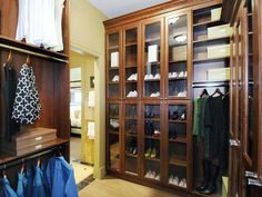 Shoe Closet : Closets And Utility : Pro Galleries : HGTV Remodels