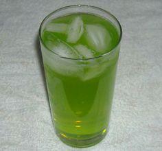 Nuclear Ice Tea. Photo by NorthwestGalIngredients: Serves: 1Yield: 1/2 oz vodka 1/2 oz gin 1/2 oz rum 1/2 oz triple sec 1 oz Midori melon liqueur 2 oz sour mix 2 oz Sprite lemon slices or 1 sprig mint, for garnish Directions: Fill a Collins glass w/ ice. Add all the ingredients, topping off w/  Sprite. Garnish w/ slice of lemon or a sprig of fresh mint.