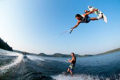 Flying high - Wakeboarding