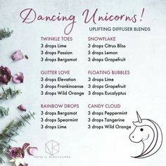 Dancing Unicorns Diffuser Blends
