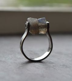 Items similar to Labradorite - Modern Silver Ring- Textured Sterling Ring on Etsy Metal Jewelry, Jewelry Art, Jewelry Rings, Silver Jewelry, Jewelry Accessories, Silver Rings, Jewelry Design, Silver Bracelets, Key Jewelry