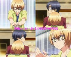 Love Stage!! ~~ No one disses Izumi quite the same way that Ryouma does.