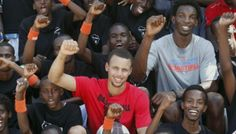 Good Morning America: NBA Star Delivers Malaria Nets to Tanzania