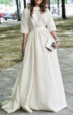 Confesiones de una boda: Vestidos de novia diferentes e inspiradores                                                                                                                                                     Más