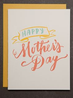 Pretty Pastels are perfect to accent this Mother's Day card.