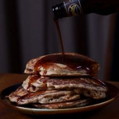 mancakes brown sugar bacon pancakes with beer syrup more bacon ...