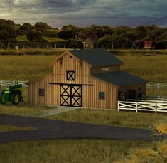 Post & Beam Barn Packages by Texas Timber Frames. Wood Barn Packages with Pricing, Model examples, & Floor Plans Wood Barn Kits, Loft Railing, Barn House Design, Barn Loft, Barn Pictures, Barn Storage, Urban Farmhouse, Post And Beam, Barn Plans