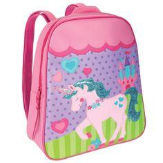 Stephen Joseph Unicorn School Backpack for Girls - Cute Book Bag for Kids  #StephenJoseph #Backpack