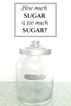How much sugar is too much sugar? Are you feeding your child and yourself more than the daily recommended allowance? Many children with special needs need even less sugar than recommended for various reasons. Click through to learn if you need to feed your children less sugar.