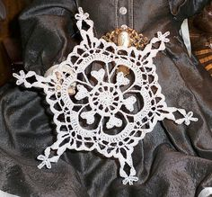 Ravelry: Project Gallery for Century Snowflake pattern by Deborah Atkinson
