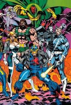 Avengers/X-Men: Bloodties Posters - Liam Sharp & Mark Farmer Avengers Comics, Marvel Comics Art, Marvel Comic Universe, Bd Comics, Marvel Heroes, Disney Marvel, Comic Book Heroes, Comic Books Art, Book Art