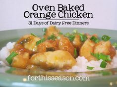 This meal plan is part of my 31 days of Dairy Free Dinners. You can find the entire list of ideas here. I've made deep fried orange chicken many times following traditional recipes. It tend…