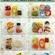 Easy and Healthy Bento Lunch Ideas: Round 6