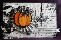 love the pumpkin on the pinwheel!