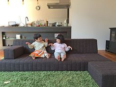 つみきソファ|積み木のようにつくるローソファ|ローソファ専門店 HAREM