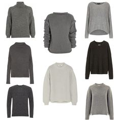 Shopping: The Grey Sweater