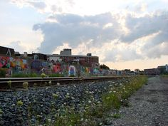 The Reclamation Project in Toronto is the largest graffiti mural in Canadian history.