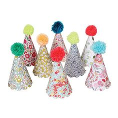 Liberty Floral Party Hats