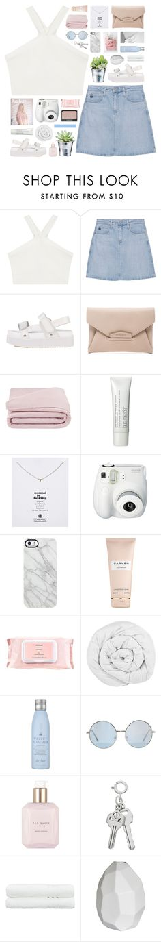 """""""i can see a better day. . ."""" by novalikarida ❤ liked on Polyvore featuring BCBGMAXAZRIA, AG Adriano Goldschmied, Givenchy, NARS Cosmetics, Frette, CO, Laura Mercier, Dogeared, Uncommon and Carven"""