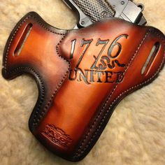1776 United OWB Leather Holster