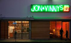 Jon & Vinny's - pizza (and a great wine shop in the back) from the Animal and Son of a Gun group