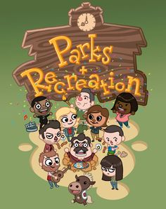 Parks & Recreation + Animal Crossing = AWESOME
