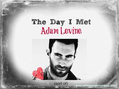 This was one of the coolest days EVER because I not only *sort of* met Adam Levine, I met lots of other great people. On top of that, that Adam Levine-ish famous guy? He read this post tonight! Ha! Love it. #MSNKnowNow