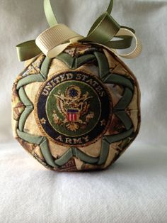 Quilted Ornament by KathysCraftRoom on Etsy, $15.00