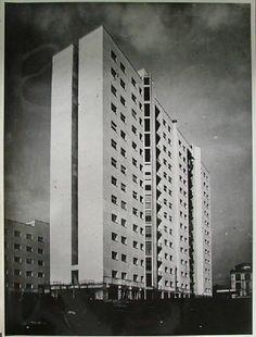 1948-50 Luigi Moretti, casa albergo di via Corridoni, Milano