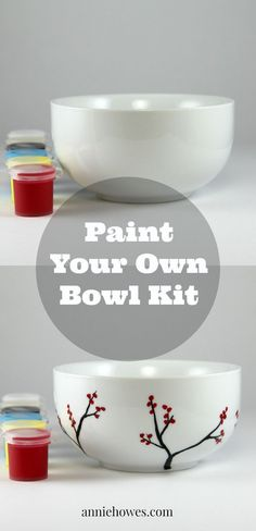 Great DIY kit, I would love to create a set of bowls for a gift.