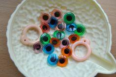9 pairs stock eyechips   2 pulls rings by BlytheinWonderland, $12.00