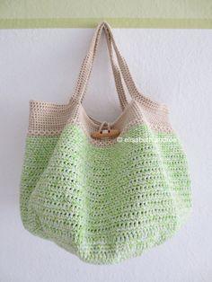 crochet spring bag by elisabeth andrée
