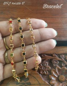 Saved by radha reddy garisa Ruby Bangles, Bangle Bracelets, Bridal Jewelry, Beaded Jewelry, Fashion Necklace, Fashion Jewelry, Jewelry Design Earrings, Stylish Jewelry, Jewelry Patterns