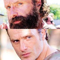 #twdseason5  Loved ricks beard