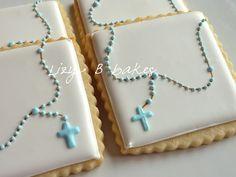 baptism/communion cookies