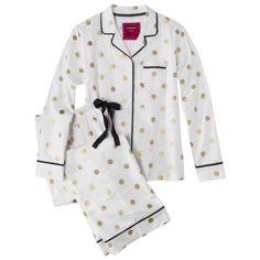 Polka-Dot Pajama Set $25