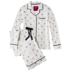 Polka-Dot Pajama Set: This Target Polka-Dot Pajama Set ($25) is insanely comfortable and perfect for lounging around in during the holidays. I especially love the gold metallic dots. — Britt Stephens, assistant editor