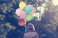 ballons coloridos