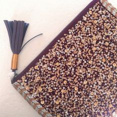 pm editor sharehpbeaded tassel clutch Gorgeous beaded/sequined clutch with faux leather tassel by Mossimo. Zip closure and one small zippered pocket inside. Burgundy canvas. New with tags. PM Editor share 1/25Host Pick 2/26 Mossimo Supply Co Bags Clutches & Wristlets
