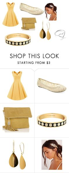 """""""outfit"""" by lilybee2023 ❤ liked on Polyvore featuring UNIONBAY, Kate Spade, Tanya Creations and Jordan Askill"""