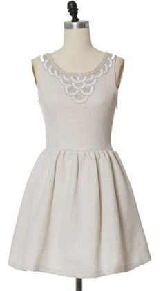 Image of GRACIA Cut Out Bow Back Beaded Dress