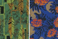 Patterns of the 1930's by Pepin Press. A lot of print, a lot of flowers, and other natural object in fabric.